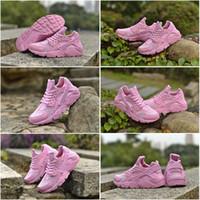 Drop Shipping Wholesale Famous Trainers Huarache Run Pink Wo...