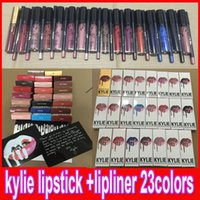 KYLIE JENNER LIP KIT with lip liner pencil Lipkit Velvetine ...