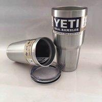 .YETI 30/20 унций чашка из нержавеющей стали 304 Cooler YETI Рамблер массажер для путешествий Автомобиль Пиво YETI Mug бислойных полный стакан с вакуумной изоляцией