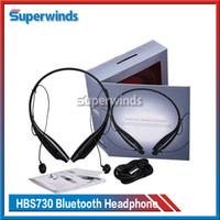 HBS-730 HBS 730 HBS730 Bluetooth stéréo sans fil écouteur Sport Neckband Casque pour iPhone 6S SAMSUNG S7 Smartphones Free-port DHL