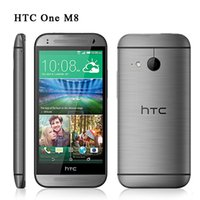 4G LTE Unlocked HTC ONE M8 Cell Phone 5. 0Inch IPS Screen Qua...