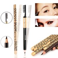 Sexy Leopard Eyebrow Pencil Waterproof Longlasting Eye Brow ...