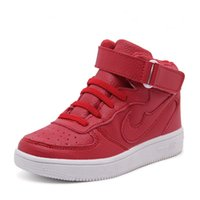 Newest Children Shoes Boys Leather Sneakers Girls Sports Sho...
