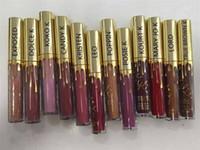 2016 nouveaux rouges à lèvres lipgloss de l'édition limitée de lèvres de lèvre d'or de Kylie 12 couleurs disponibles expédition libre de DHL