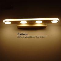 12W 18W современные светодиодные фонари зеркало для ванной комнаты уборной платье из нержавеющей стали Светодиодная лампа современные зеркальные фонари