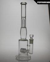 35cm de hauteur Matrix percolate bong de verre Honeycomb percolate Bong d'eau Oil Rig diffuseur en verre percolateur pipes de fumer joint 18.8mm PG020