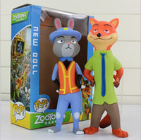 Zootopia Nick Judy Action Figure PVC Dolls 20cm Model Toys B...