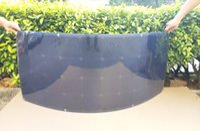 120W Semi Flexible Bendable solar panels kit for homes, blac...
