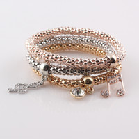 New Fashion Hot Sale Musical Notes Bracelet Bangles Jewelry ...