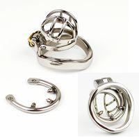 Latest Design Super Small Male Bondage Chastity Device Stain...