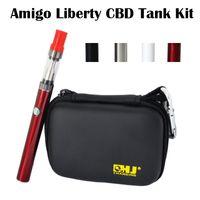 Origine Amigo Liberté CBD Réservoir Kit huile de chanvre CBD 0.5mL /1.0mL 510 Battery 380mah CBD Bud tactiles Kits Vaporisateur Pen
