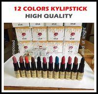 24pcs оптового нового состава Kylie Дженнер матовая помада 12 цветов высокого качества фабрики сразу Свободная перевозка груза