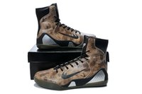 Kobe 9 Elite Black Mamba Mens Basketball Shoes High Tops Sne...