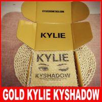 kylie kyshadow Gold Pressed Powder Eyeshadow 9 colors kylie ...