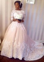 Vestido De Casamento Africa Wedding Dresses With Sleeves She...