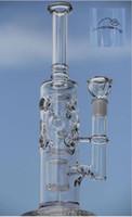 Bong! Mobius straight fab - tuyaux d'eau de bong de verre nouveau 14.5