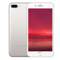 Разблокирована Goophone i7 плюс реальный отпечатков пальцев функция 5,5 дюйма Металлический корпус Android 6.0 MTK6580 Показать подделкой 4G Ге 128GB реального 1G 16G Клон телефон