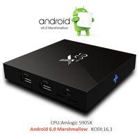 X96 Android TV Player S905X Quad- core KODI 16. 1 1G RAM 8G RO...