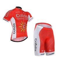 2015 COFIDIS PRO TEAM RED C14 SHORT SLEEVE CYCLING JERSEY SU...