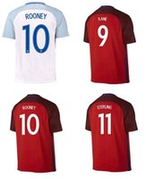 New 2016 England soccer jerseys Uniforms away RED home white...