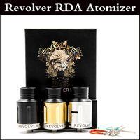 Верхнее качество Revolver RDA Clone REBUILDABLE Dripping Форсунки 24мм диаметр 2 сообщение PEEK Изоляторы airgflow управления бак Fit 510 Mod