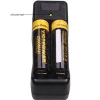 18650 18500 18350 14500 Зарядные устройства Dual слоты Зарядные устройства Универсальное зарядное устройство для 18650 VTC5 VTC4 зарядное устройство