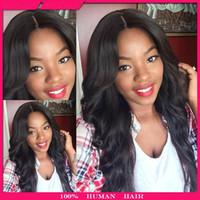 8A Grade Full density Brazilian Human Hair wigs Full Lace Wi...