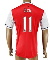 Thai Quality Customized men 11 OZIL Soccer Jerseys Shirts To...