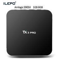iLEPO TX3 PRO Android6. 0 Android TV Boxes Amlogic S905X Quad...