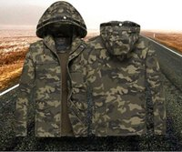 2016 New Military Camouflage Jackets For Men Bomber Jacket M...