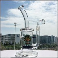 Newest Glass Bongs Beehive Inline Perc Water Bong Smoking Pi...