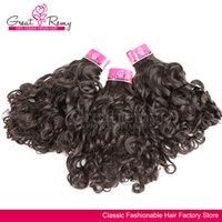 3pcs Brazilian curly hair weave free shipping hair weavings ...