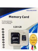 ¡Venta caliente 2017 !! 128GB 200GB SDXC 64GB 32GB Micro SD TF con el paquete al por menor genérico de la ampolla del adaptador