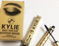 2016 Nuevo rímel impermeable delgado de la máscara del rimel de Kylie de la alta calidad Rímel impermeable delgado del ojo morado de la pestaña larga del ojo largo