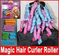 DIY MAGIC LEVERAG Magic Hair Curler Roller Magic Circle Hair...