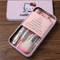 2016 Selling Hello Kitty Make Up Cosmetic Brush Kit Makeup B...