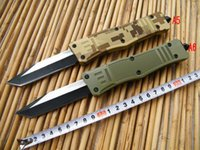 Microtech knife Troodon A161 Scarab Aviation aluminum handle...
