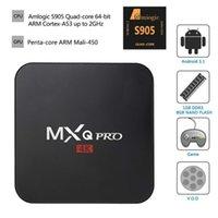MXQ Pro Android TV Box Amlogic S905 numérique TV en streaming Box Quad Core Android 5.1 2.4G Kodi 16,0 DHL OTH039