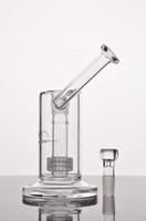 New Mobius matrice verre sidecar birdcage bong Bongs en verre perc épais de pipes à eau en verre avec 18 mm joint
