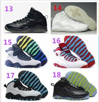 Top Retro 10 Basketball Shoes Mens Sneakers Legend ChinaJord...