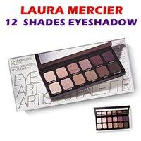 Палитра теней для век макияж косметика оптовой NEW Laura Mercier Eye Art для художников Limited Edition макияж 12 Shades