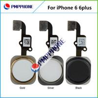 100% de réparation Garantie de remplacement Pièces Accueil Bouton Menu ensemble Câble Flex pour iPhone 6 4.7 pour iPhone 6 plus de 5,5 pouces