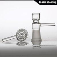 2016 Nouveau bol en verre de toro de conception avec 14mm verre de joint femelle de 14.4mm sur le verre fumant le bol 18.8mm 18mm taille commune expédition libre