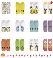 Atacado - New 3D impressão meias Pikachu meias para as mulheres meias de algodão e crianças grandes meias cartoon A0362