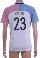Customized 16- 17 European Cup France 23 COSTIL Soccer Jersey...