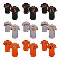 2016 Flexbase Mens Baseball Jerseys Baltimore Orioles #8 cal...