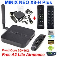 MINIX NEO X8-H Plus x8h Android TV Box Amlogic S812 Quad Core CPU 2G / 16G H.265 4K 2160P XBMC IPTV WiFi Google TV Player + A2 Lite Air Mouse