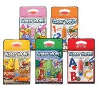 Water wow Painting Reusable Pen Aqua Coloring Book Doodle Ar...