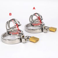 Stainless Steel Male Chastity Device Cock Short Cage Men&#03...
