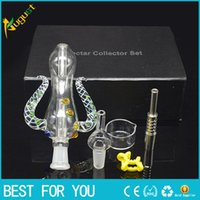 Colourful Nectar Collector Kit Ox Horn Shape With Individual...